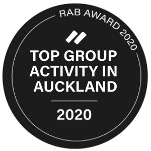 Auckland Group Activity Badge Black